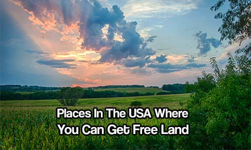 places in the usa where you can get free land shtf