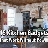 15 Kitchen Gadgets That Work Without Power