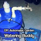 DIY Automatic Garden Watering Buddy