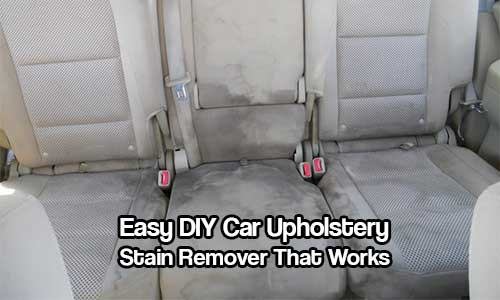 easy diy car upholstery stain remover that works. Black Bedroom Furniture Sets. Home Design Ideas