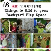 features to add to your backyard play space