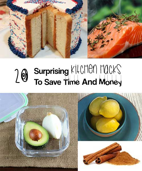 20 Surprising Kitchen Tips And Tricks To Save Time And Money