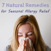 7 Natural Remedies for Seasonal Allergy Relief - Allergies plague millions of people, and many only get marginal relief from drugs, which can also have frustrating side effects. Natural remedies, however, often have fewer side effects, and can combat allergic reactions to plants and trees.