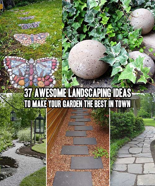 37 awesome landscaping ideas to make your garden the best for Garden idea ht 450