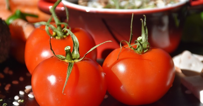How To Grow 90 Pounds Of Tomatoes From 5 Plants - If you only have a small area to grow vegetables, but still want the largest tomato harvest possible, the double-ring cage growing technique was made for you.