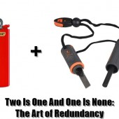 Two Is One And One Is None - The Art of Redundancy