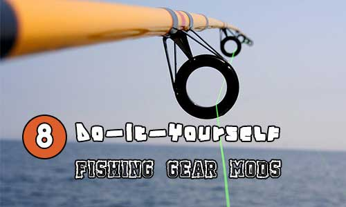 "8 Do-It-Yourself Fishing Gear Mods - ""Disclaimer: By using some of these tricks, you may no longer be able to blame your outfit when the big one gets away"" .. this made me laugh."