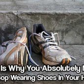 Stop Wearing Shoes In Your House