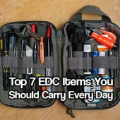 Top 7 EDC Items You Should Carry Every Day