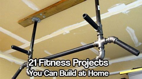 21 Fitness Projects You Can Build at Home