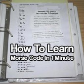How To Learn Morse Code In 1 Minute