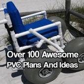 Over 100 Awesome PVC Plans And Ideas - I don't know how on earth these plans are free. They are awesome, very handy and so easy and cheap to make. Never be bored again!
