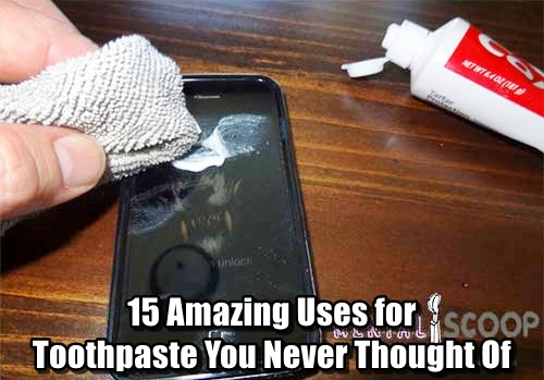 15 Amazing Uses for Toothpaste You Never Thought Of
