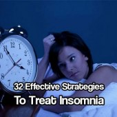 32 Effective Strategies to Treat Insomnia - Insomnia is frustrating. Stop taking DNA altering medications because you CAN often treat it yourself.