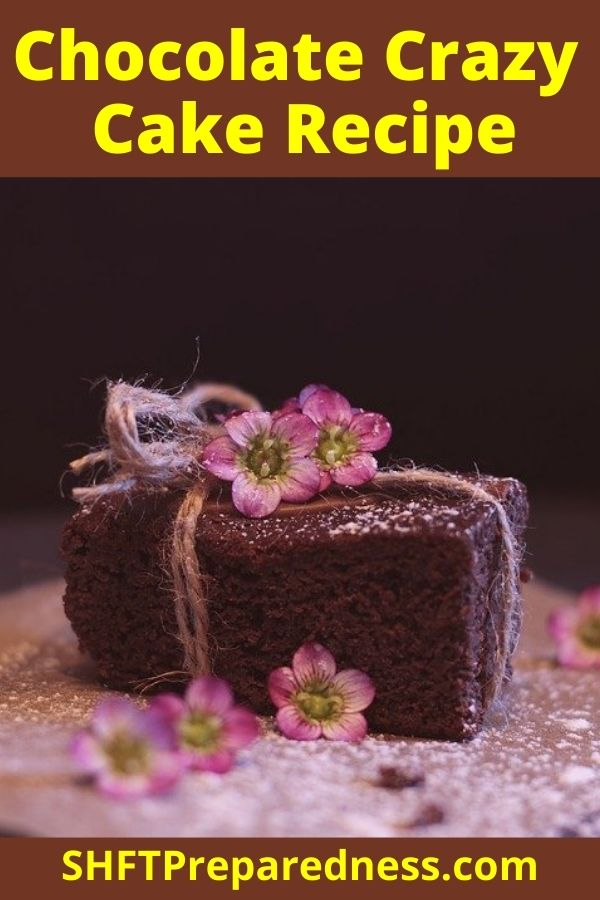 Who wouldn't want to know how to make a cake that required no eggs, milk or butter even bowls? The clean up with this cake is super simple and best of all this cake tastes how a cake tastes.. awesome!
