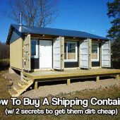 How To Find And Buy A Shipping Container
