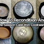 How To Recondition & Re-Season Cast Iron Cookware