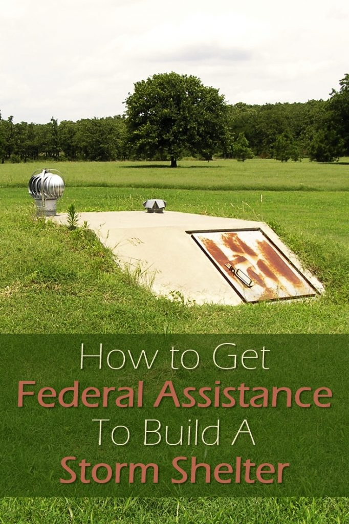 How to Get Federal Assistance To Build A Storm Shelter - You may be eligible for a grant. You don't pay grants back! Or at the very least special financing that will offer better rates than banks. Check it out. You don't want to miss this!