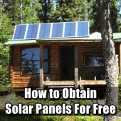How to Obtain Solar Panels For Free - In order to obtain the solar panels for free you will need to have your people skills and politeness in check, other wise the city will just say no.