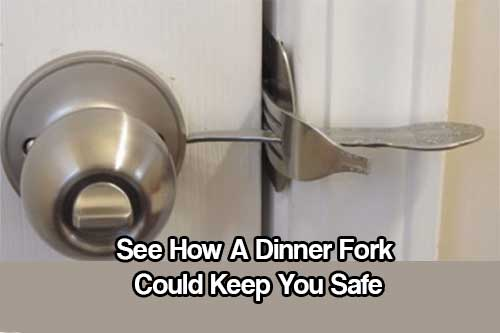 See How A Dinner Fork Could Keep You Safe