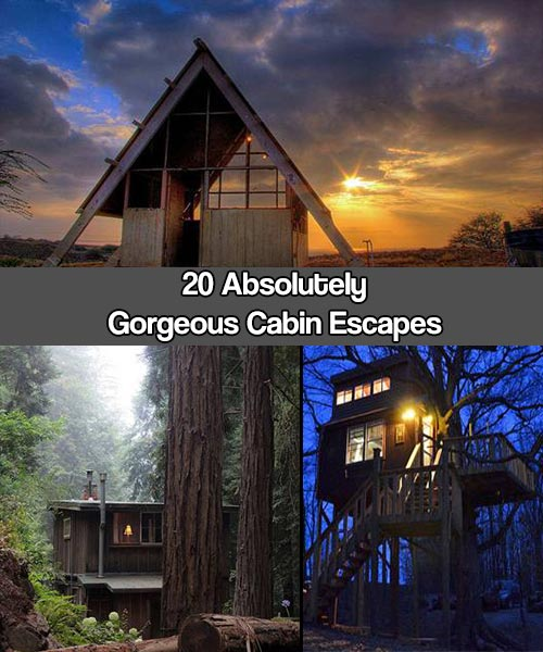 Shtf Bug Out Cabin : Absolutely gorgeous cabin escapes shtf prepping central