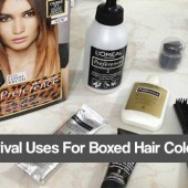 5 Survival Uses for Boxed Hair Color Kits