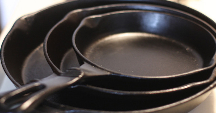 Find Out What The Numbers & Letters Mean On Your Cast-Iron Cookware - The numbers and letters that are stamped into these cast-iron skillets, kettles, pots and pans and even wood burning stoves for a reason. You can dig deep into their history and find out when they were made and what their purpose was.