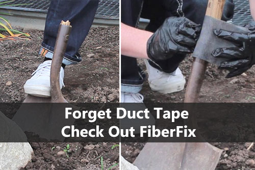 Forget Duct Tape Check Out FiberFix