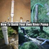 How To Build Your Own River Pump