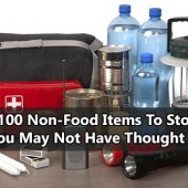 Over 100 Non Food Items To Stockpile You May Not Have Thought Of - Food storage is only the beginning of being prepared for an emergency. Besides food, there are other supplies you'll want to have in your emergency stash.