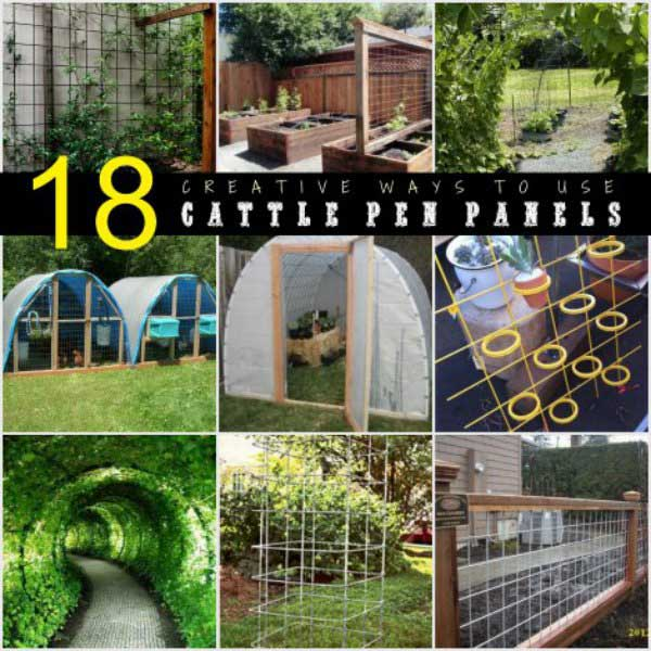18 Creative Ways To Use Cattle Pen Panels