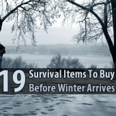 19 Survival Items To Buy Before Winter Arrives