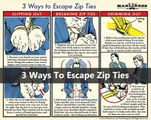 3 Ways To Escape Zip Ties
