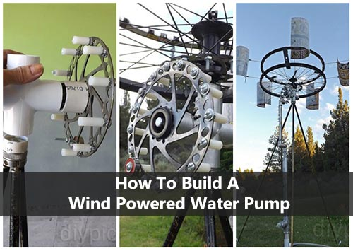how to build a wind powered water pump shtf prepping