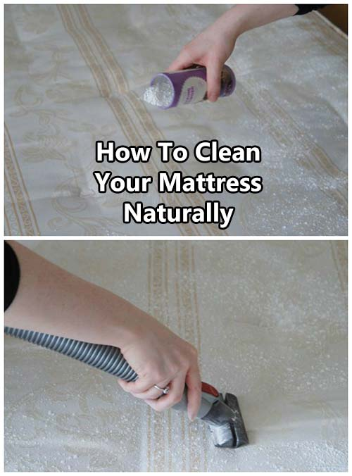 How To Clean Your Mattress Naturally SHTF Prepping