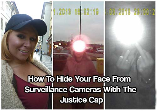 How To Hide Your Face From Surveillance Cameras With The Justice Cap