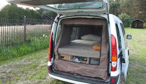 I love this small van project! A lot of us can't afford a big and fancy RV to camp or tour the states in.