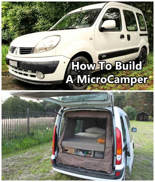 How To Build A MicroCamper