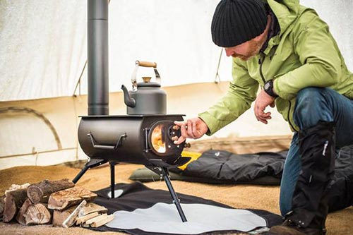Portable Wood Stove For Tents, Bugging Out And Tiny Houses
