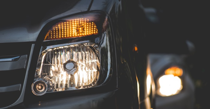Simple Trick for Restoring Car Headlights - clean