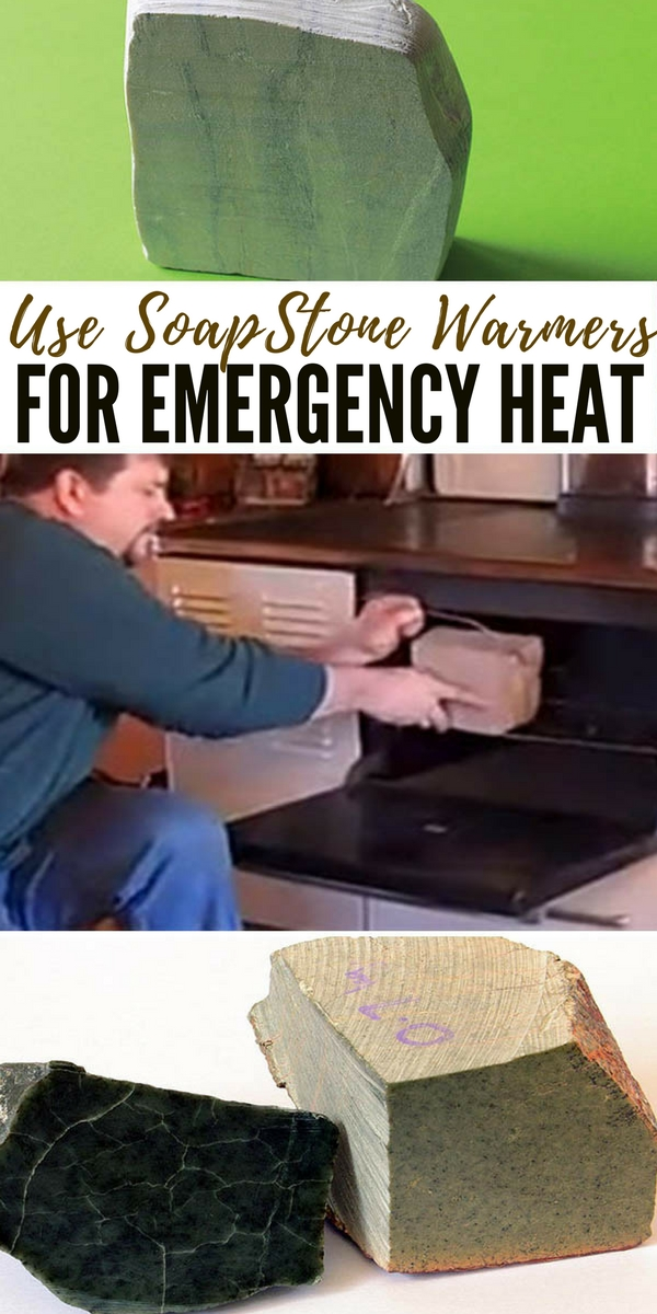 Use SoapStone Warmers For Emergency Heat - DIY