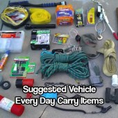 Vehicle Every Day Carry Items