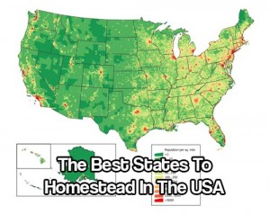 Many Americans are looking for a place to homestead.