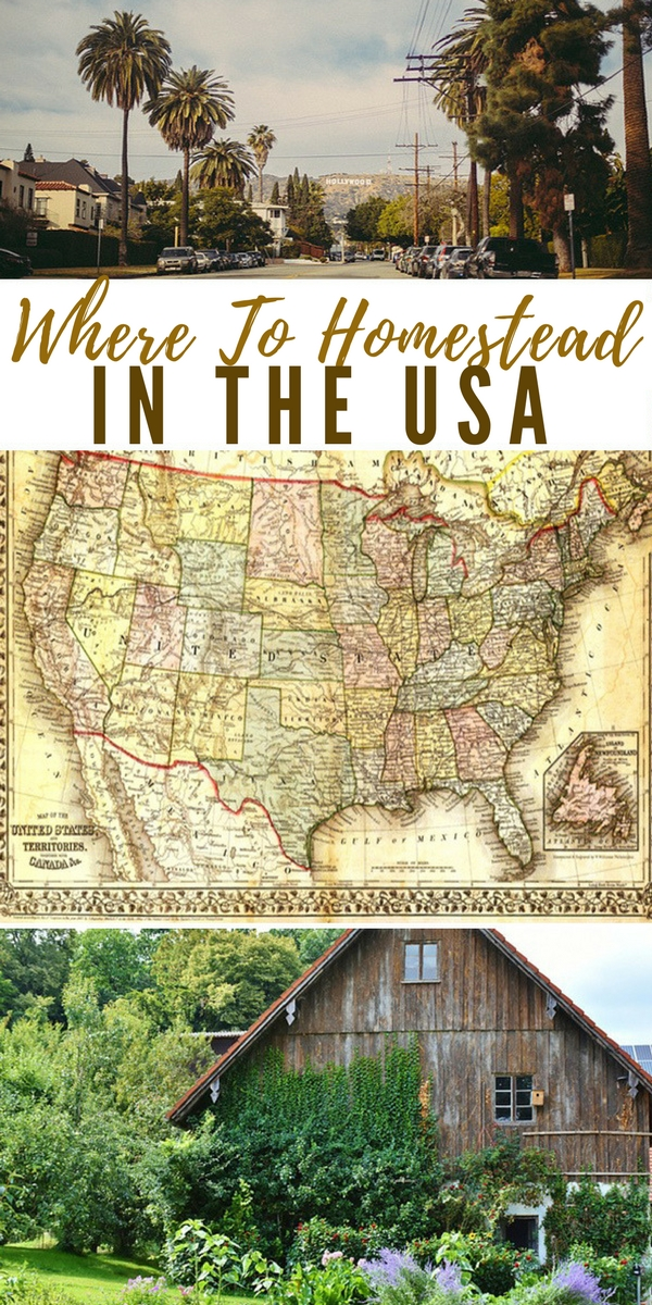 Where To Homestead In The USA - tip