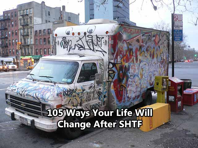 105 Ways Your Life Will Change After SHTF