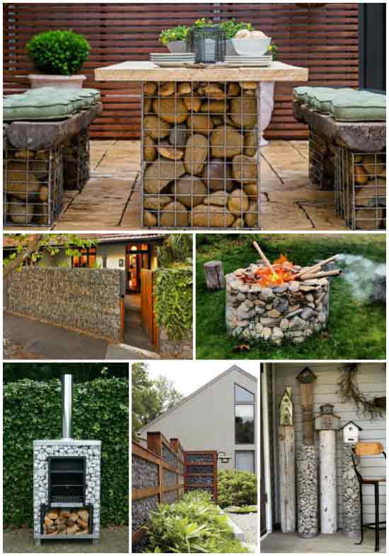 21 Useful Ways To Use Wire Cages (Gabions) On The Homestead