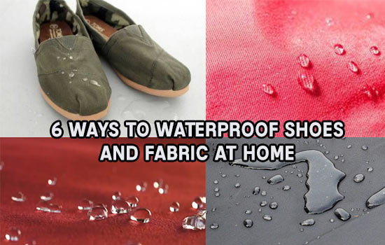 6 Ways To Waterproof Shoes and Fabric At Home