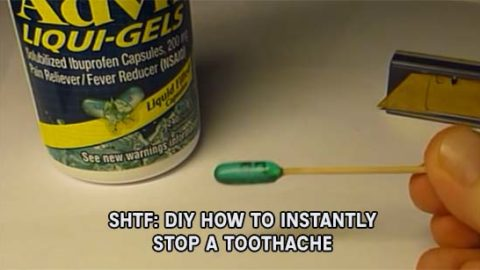 SHTF: How To Instantly Stop A Toothache