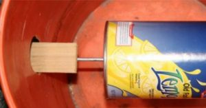 These 5-gallon bucket mouse traps are cheap and easy to build, easy to use and easy to service. I know the regular mouse traps are cheap but this trap can also catch rats too.