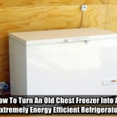 How To Turn An Old Chest Freezer Into An Extremely Energy Efficient Refrigerator